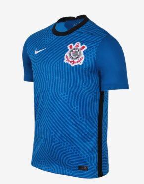 Maglia portiere Corinthians blu 2020