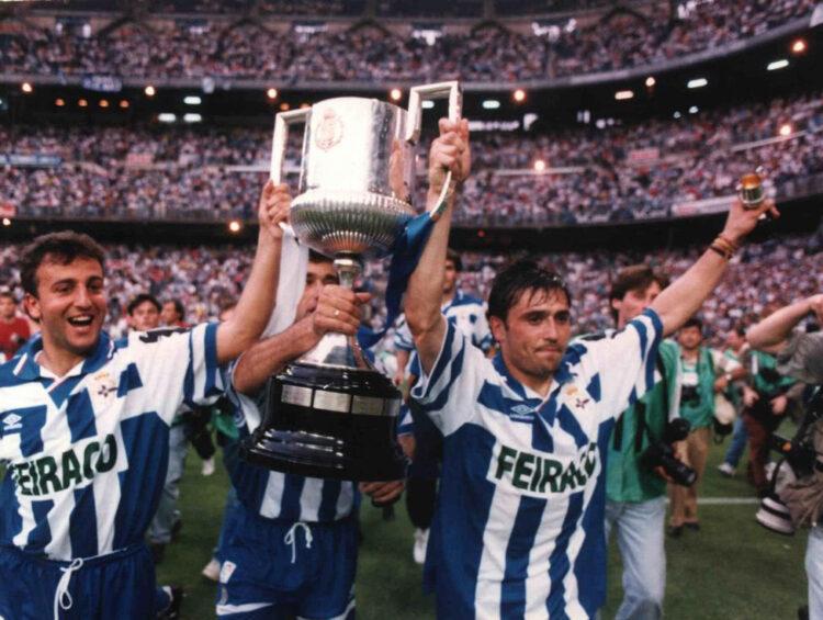 Coppa del Re 1995, vittoria Deportivo