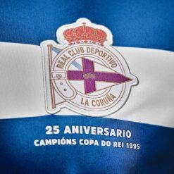 Deportivo stemma maglia 2020-21