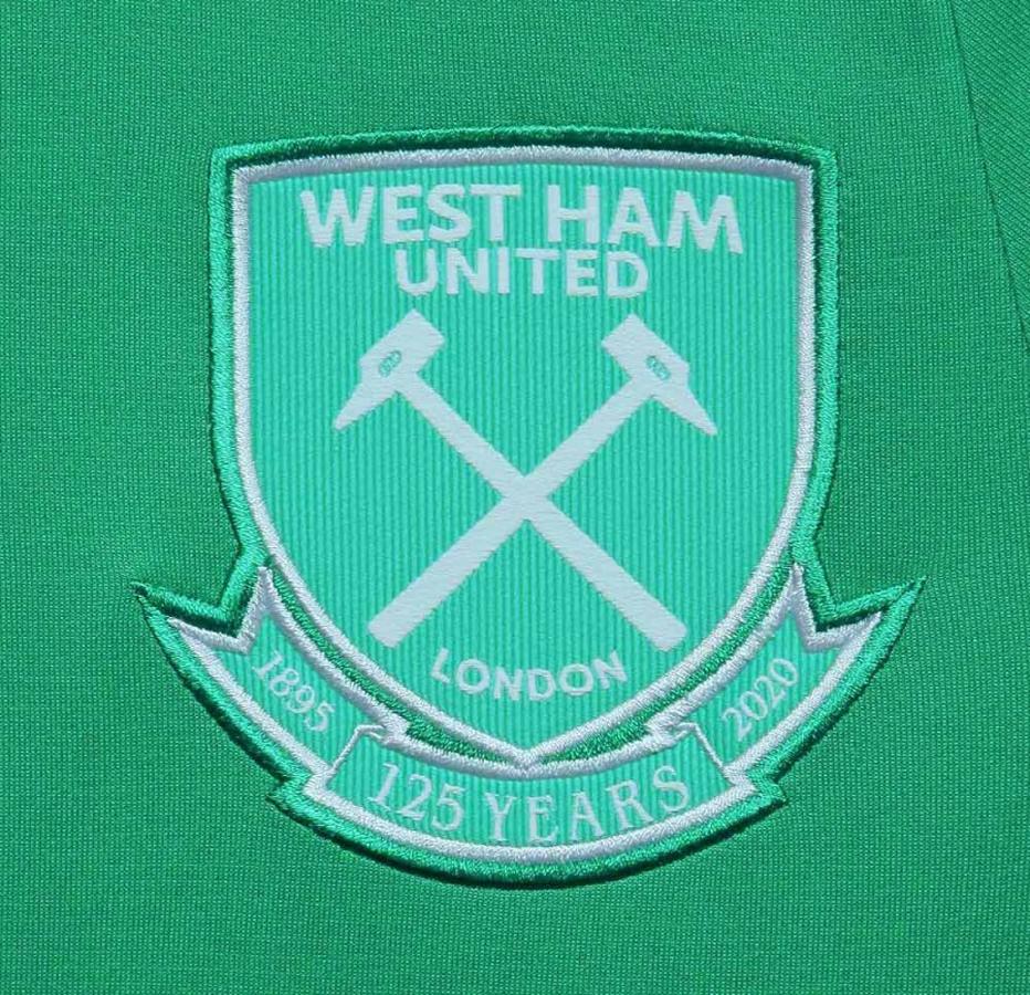 Stemma celebrativo West Ham 125 anni