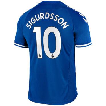 Maglia Everton 2020-2021 Sigurdsson 10