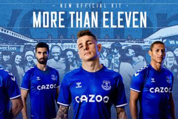 Nuova maglia Everton 2020-21 Hummel-Cazoo