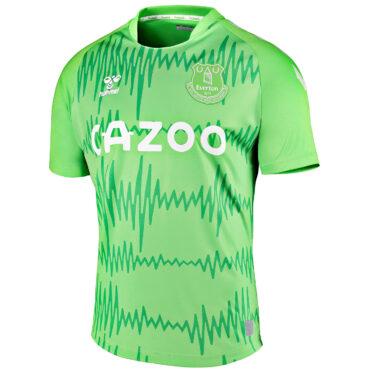 Maglia portiere Everton 2020-21 verde