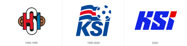 Loghi federazione islandese calcio