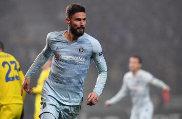 Giroud terza maglia Chelsea 2018-2019