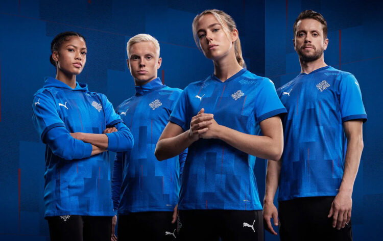Islanda, nuova maglia 2020
