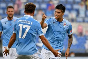 Correa e Immobile - Lazio-Brescia