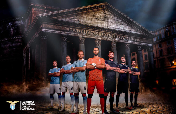 Le nuove divise della Lazio 2020-21
