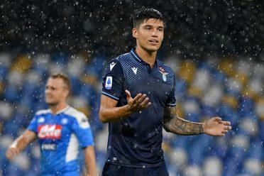 Correa in Napoli-Lazio con la terza maglia