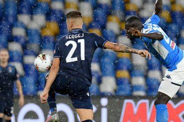 Napoli-Lazio Milinkovic