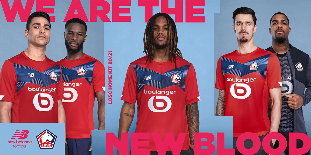 La nuova maglia del Lille 2020-2021