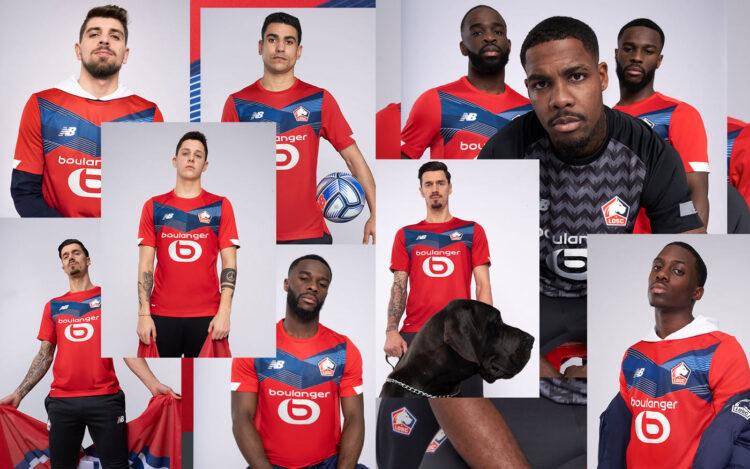 Presentazione maglia Lille 2020-21