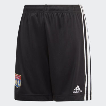 Pantaloncini Lione away grigi 2020-21