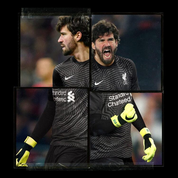 Alisson maglia portiere Liverpool 2020-21