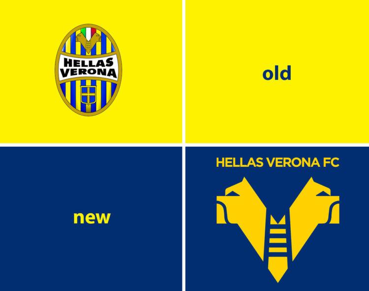 I loghi del Verona Hellas 2020