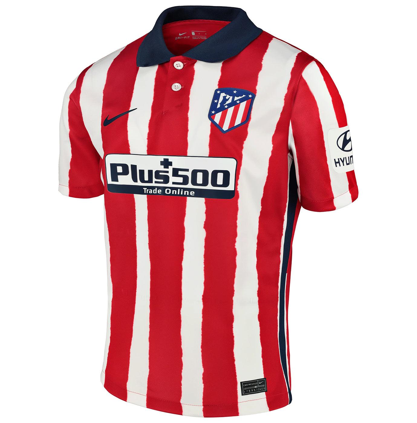 Maglia Atletico Madrid 2020-2021, Nike presenta le strisce distorte