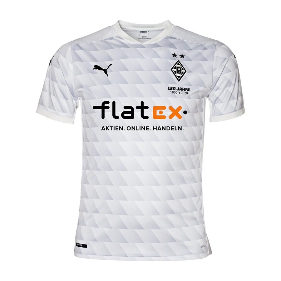 Maglia Borussia Monchengladbach 2020-2021 per i 120 anni del club
