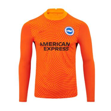 Maglia portiere Brighton 2020-21 home arancione