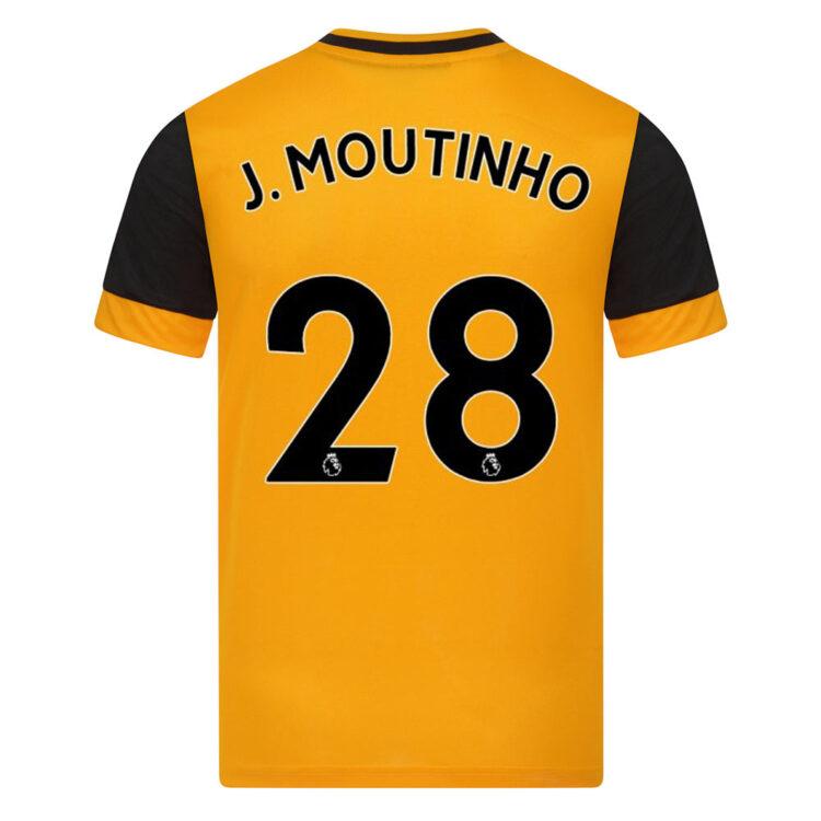Maglia Wolverhampton 2020-2021 Moutinho 28