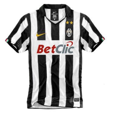 Maglia Juventus 2010-2011 zig-zag