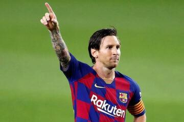 Messi maglia Barcellona Nike
