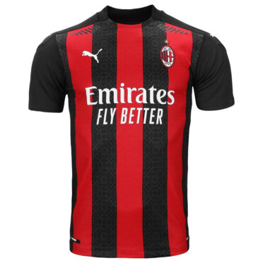 Maglia Milan 2020-2021 Puma rossonera