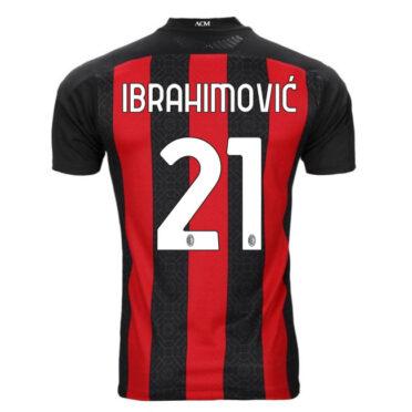 Maglia Milan Ibrahimovic 21 - 2020-21