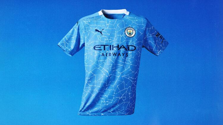 La nuova maglia del Manchester City 2020-21