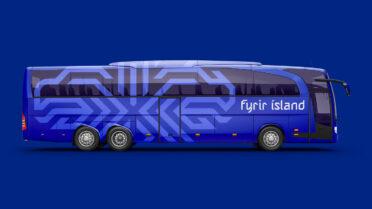 Pullman Islanda con il nuovo stemma