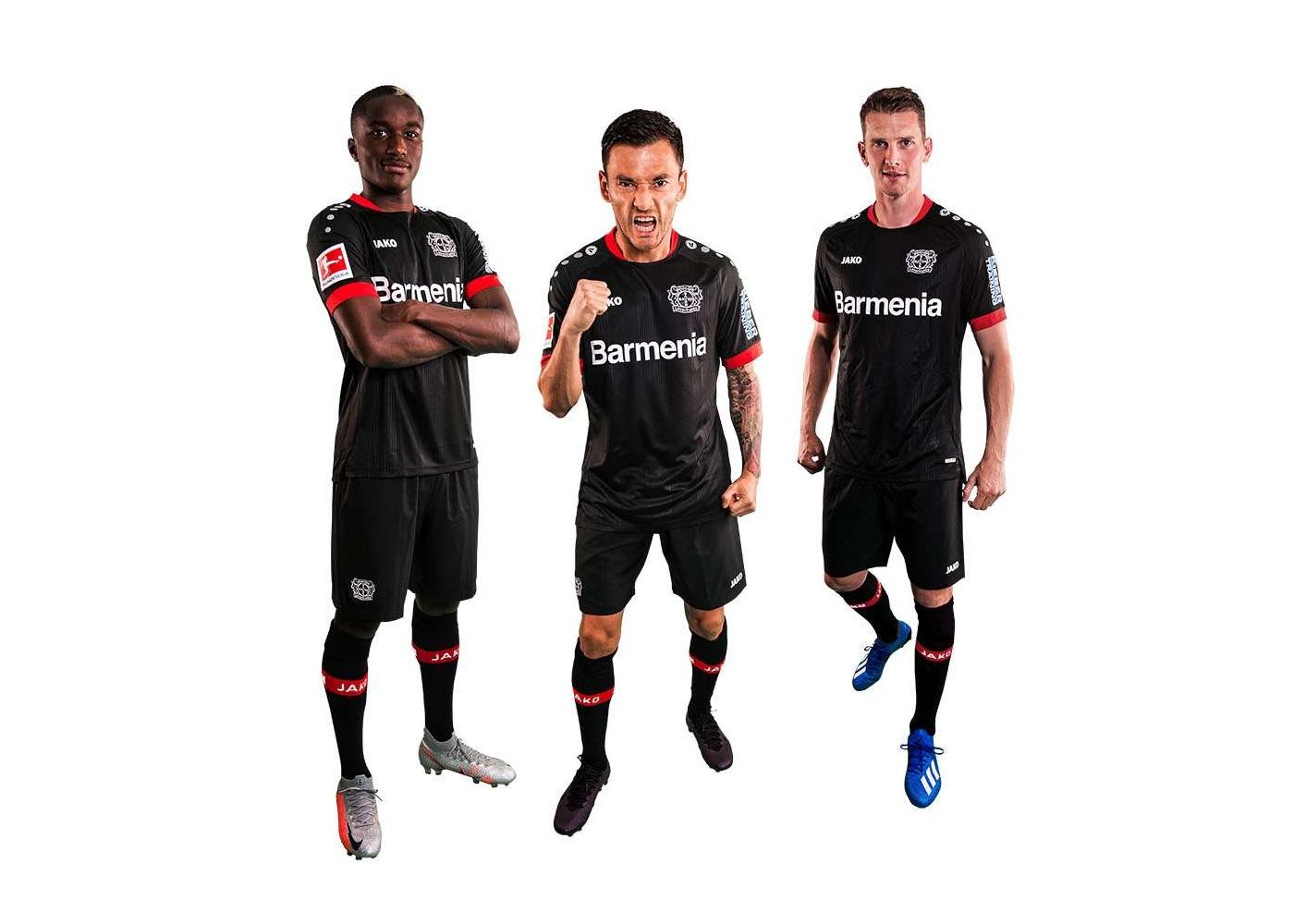 Maglia Bayer Leverkusen 2020-2021, il nero è protagonista!