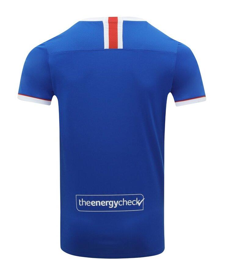 Maglie Rangers 2020-2021 con il nuovo sponsor tecnico Castore