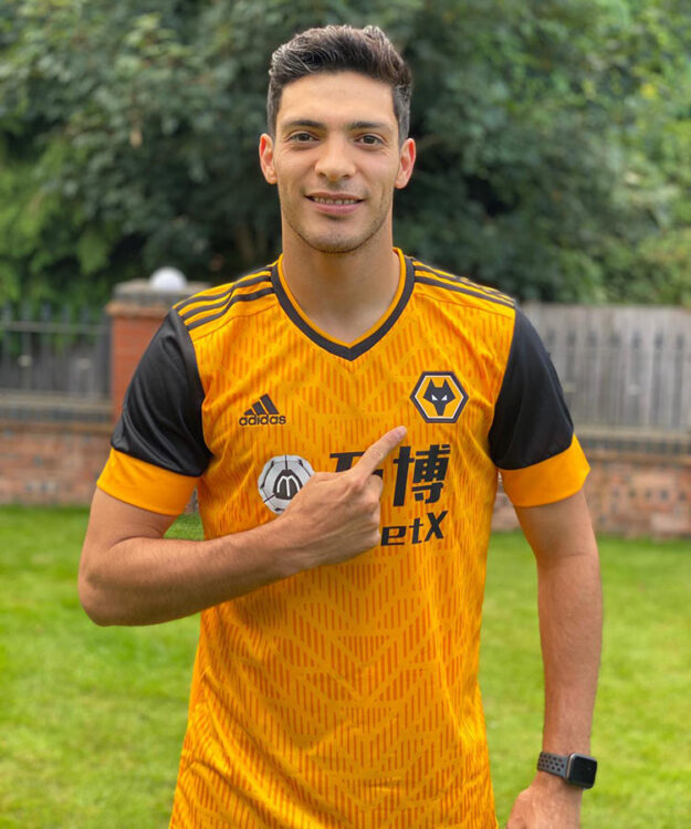 Raul maglia Wolves home 2020-21