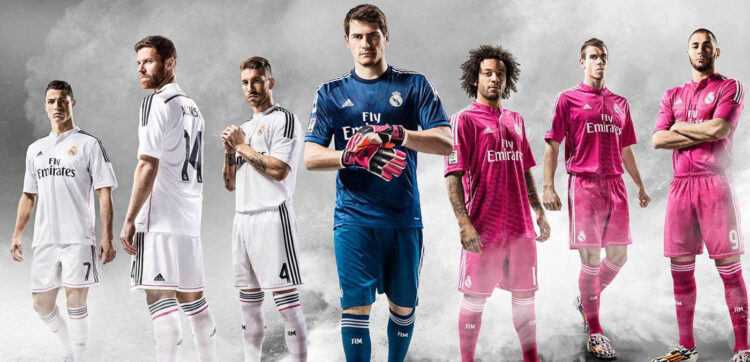 Maglie Real Madrid 2014-15