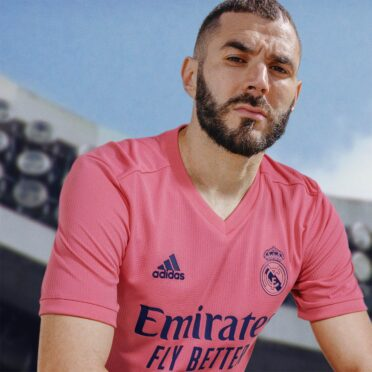 Benzema Real Madrid maglia away 2020-21