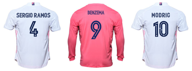 Font Real Madrid 2020-2021