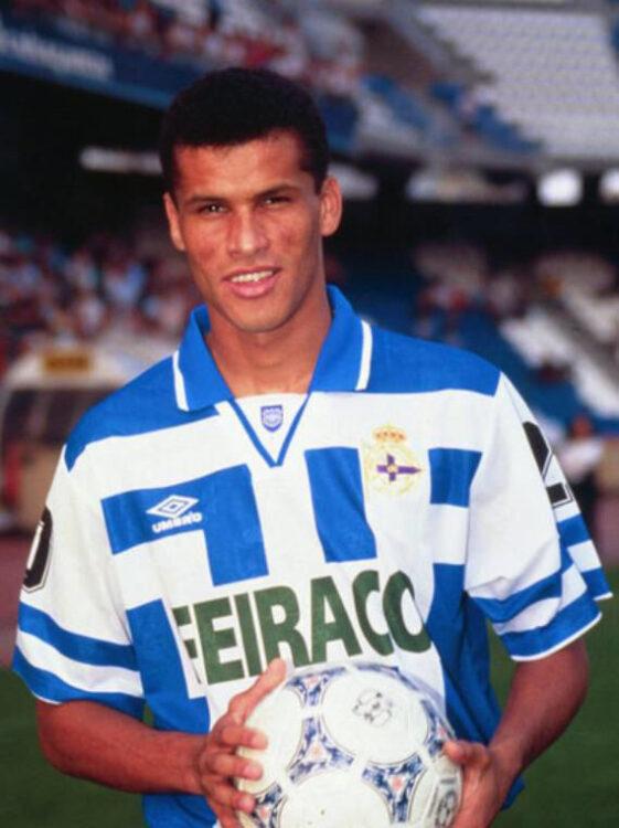 Rivaldo maglia Deportivo Umbro