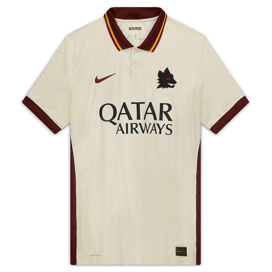 Seconda maglia Roma 2020-21, Nike spolvera il Lupetto e l'avorio