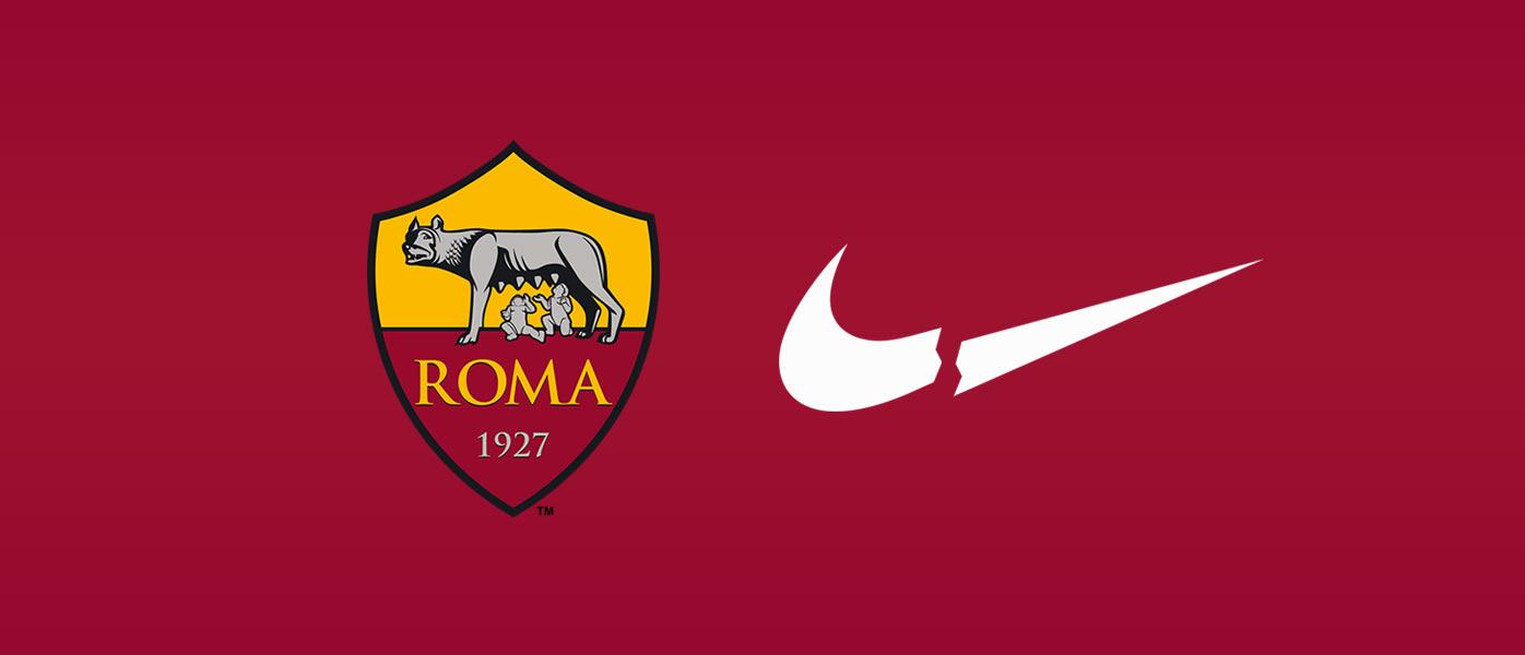 Roma addio sponsor Nike