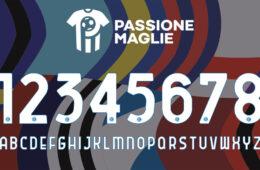 Nuovo font unico Serie A 2020-2021