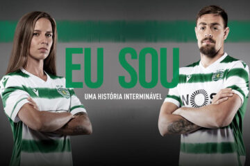 Le nuove maglie dello Sporting Lisbona 2020-21