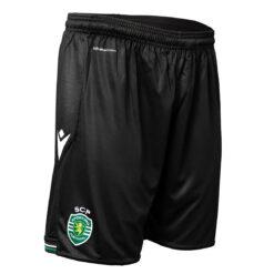 Pantaloncini Sporting Lisbona 2020-21 neri