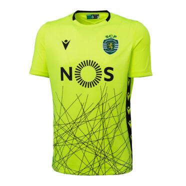 Maglia portiere Sporting away giallo