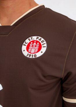 St. Pauli dettaglio logo maglia