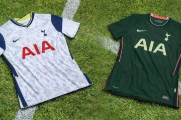 Le nuove maglie del Tottenham 2020-2021