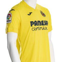 Prima maglia Villarreal dettaglio fronte