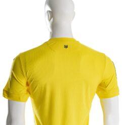 Prima maglia Villarreal dettaglio colletto