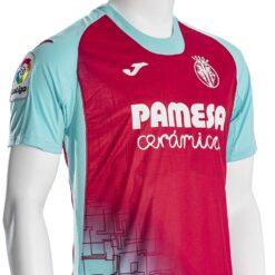 Terza maglia Villarreal 2020-2021 dettaglio fronte