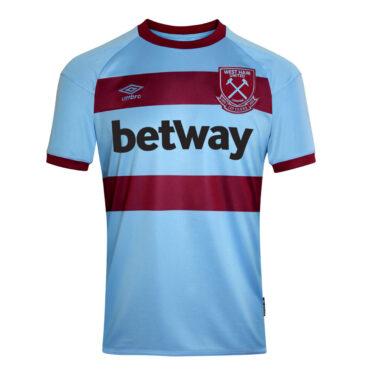 Seconda maglia West Ham 2020-21 Umbro
