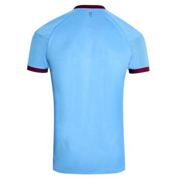 Seconda maglia West Ham 2020-21 celeste retro