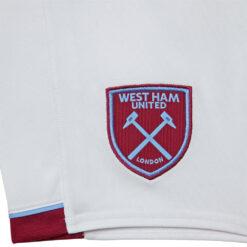 Stemma West Ham pantaloncini bianchi